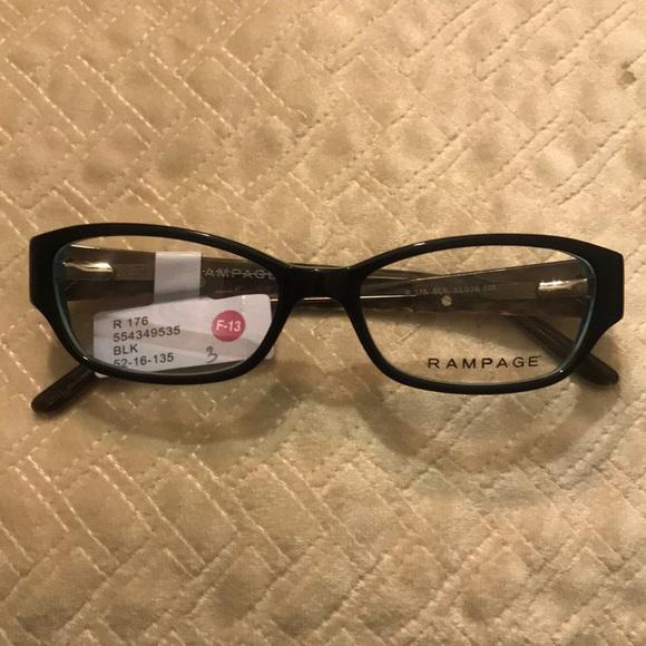 d5c9ce5592 Rampage 176 BLK Rx ready women s eyeglasses frames